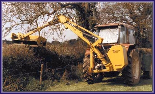 3 Point Hedge Trimmer : Twose hedgetrimmers
